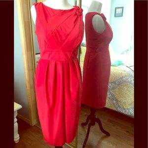 Gorgeous Red Satiny Dress